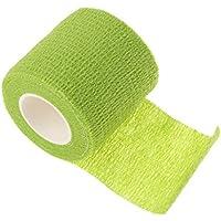 Vendajes Autoadhesivo Adhesivos Venda Adhesiva Cinta Flexible Vendaje No Tejido Elástico Deportivo Del Abrigo Deporte - verde, 5 * 450 cm