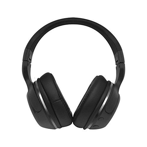 XHKCYOEJ Computer mit Stereokopfhörern/Kopf Tragen/Bluetooth /Kopfhörer/Schwerer Bass/Lärm /Bluetooth/Bluetooth, BO YA Schwarz