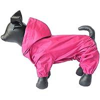 Ropa para mascotas, disfraz de perro, impermeable, nailon, 4 patas, chubasquero