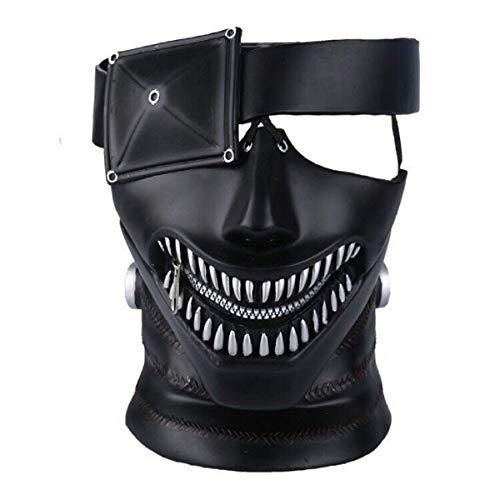 Royala Tokyo Ghoul Maske Cosplay 3D Japan Anime Maske Kostüm 2017 Film Mit Verstellbaren Reißverschluss Halloween, Partys, Bar Unterhaltung