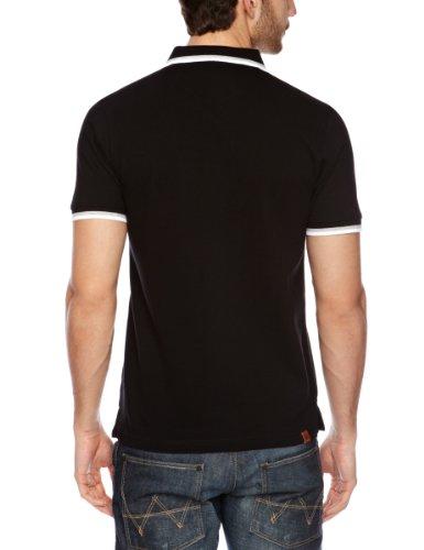Bench Herren Poloshirt Schwarz - Black