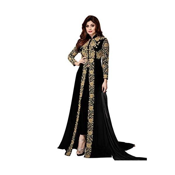 AMAR FASHION Women's Georgette Unstitched Salwar Suit