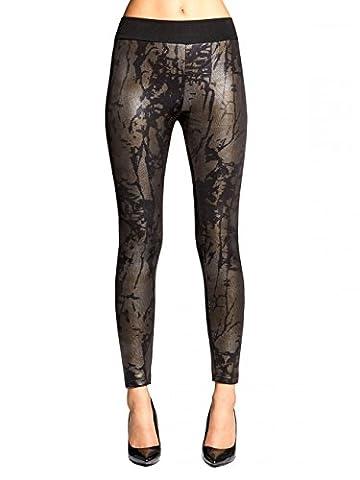 Pantalon Femme Dore - CASPAR HLE016 Leggings doublé femme,