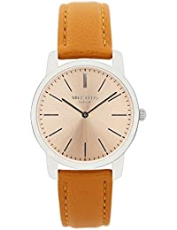 Mike Ellis New York Damen-Armbanduhr Preppy Analog Quarz Kunstleder SL4527B10