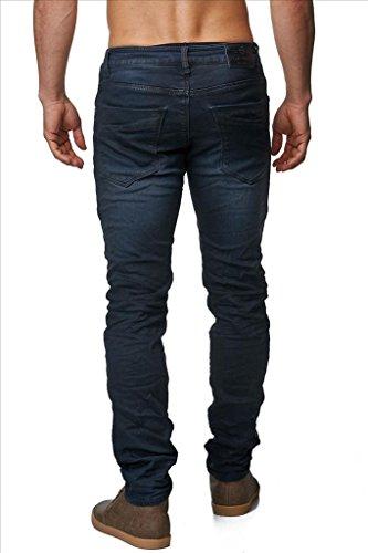 Hommes Indigo Jeans Rom ID1429 tronçon bleu foncé Dunkelblau