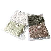 transparente Set 2 bolsas ahorra espacio Compactor RAN2233 55 x 90 cm y 80 x 100 cm