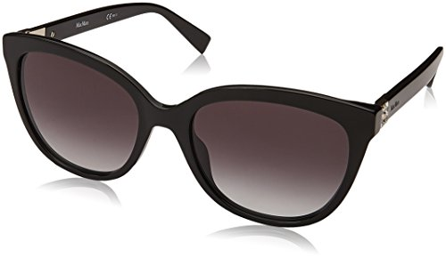 Max Mara Damen MM TILE 9O 807 55 Sonnenbrille, Black/Grey