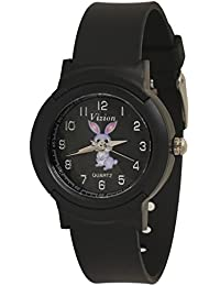 Vizion Analog Black Dial (BILLY -The Blue Bunny ) Cartoon Character Watch for Kids- 8811-1-1