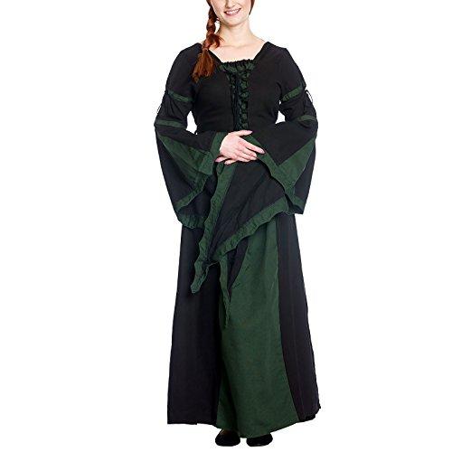 Mittelalterkleid Liaze Gothic Kleid Gewand Größe Gr. XXXL 6172 (Knecht Kostüm Wunderschöne)