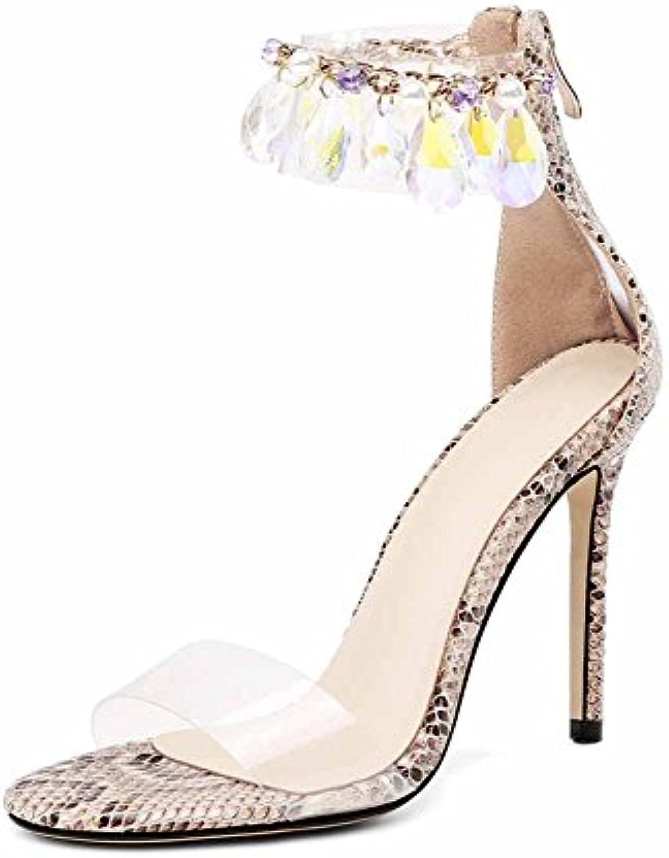 NeroGiardin - Sandalias de Vestir de Cuero para Mujer -