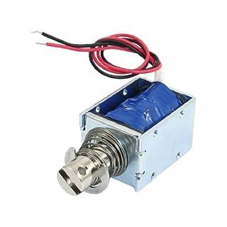 DealMux a12120600ux0144 Stroke Open Frame Elektrischer Hubmagnet, DC 12V, 5,6 Ohm, 1 kg Kraft, 10 mm