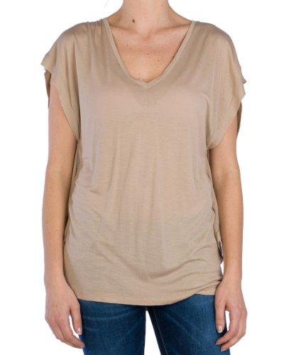 Replay Damen T-Shirt W3434 000.21012 Beige (893)