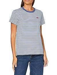 Levi's tee Camiseta, Silphium Colony Blue, M para Mujer