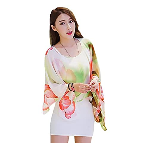 Years Calm Changeable sleeveless chiffon Multi-color Shawl sunscreen clothes the beach towel of vocation (7)