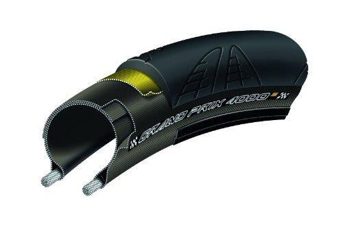 Continental Rennrad - Reifen Grand Prix 4000 S, black-black skin foldable, 700 x 23C, 100000