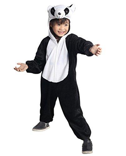 Panda-Kostüm, An75/00 Gr. 110-116, für Kinder, Panda-Kostüme Pandas für Fasching Karneval, Panda-Bär Klein-Kinder Karnevalskostüme, Kinder-Faschingskostüme, Geburtstags-Geschenk Weihnachts-Geschenk