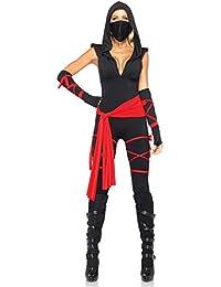 Leg Avenue - 5-Teiliges Ninjakostüm - 85087
