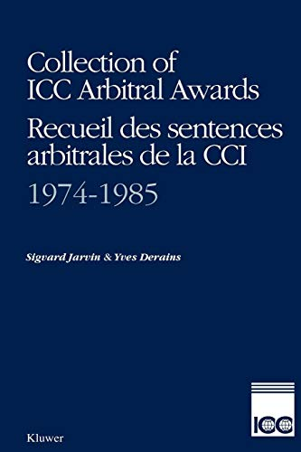 Collection of ICC Arbitral Awards, 1974-1985 (Publication (International Chamber of Commerce), No 433, 514.)