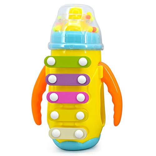Joyibay Musikinstrument Milchflasche Form Musical Spielzeug Hand Glocke (Zufällige Farbe)