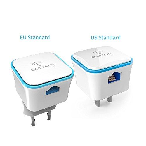 Meross MRE120 WiFi Repetidor Amplificador Extensor de Red wifi Inalám