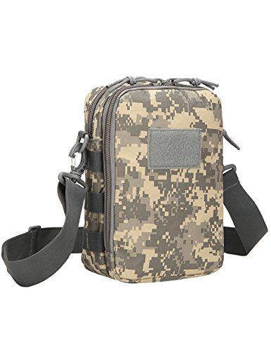 Menschwear Schleuder Tasche Chest Pack,Multiple Storage Zweck Umhängetasche Tragen Styles Tarnung 3 Tarnung 1