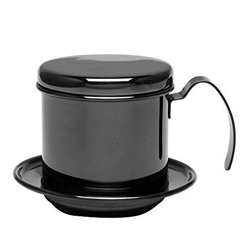 304 Vietnamesischer Kaffeefilter Percolator Edelstahl Tropfenfänger einzelne Schalen Topf...