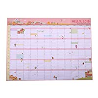 tirdds environmental Paper Diary Planner Personality Magic Efforts Office Agenda Day Calendars Planner Schedule Agenda Annual for Home Decoration(None Picture Color)