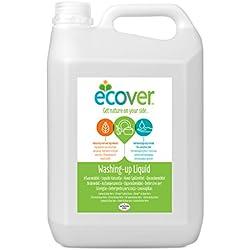 Eco-detergente liquido para lavavajillas con limón y aloe vera