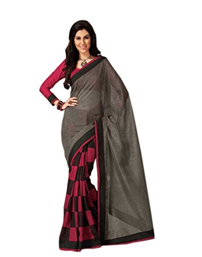 POOJA INTERNATIONAL Exclusive Fancy Bollywood Designer Bhagalpui silk sarees multi color with blouse piece