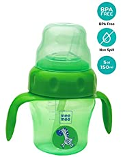 Mee Mee 150ml 2 in 1 Spout and Straw Sipper Cup (Green)