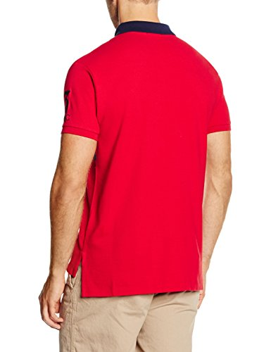 Polo Ralph Lauren Herren Poloshirt Sscustbppm6-Short Sleeve-Knit Rot (RL 2000 RED A6412)