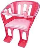 Lena 61160 - Sitz für Puppen bis 46 cm, Puppensitz zum Anhängen an Lenker von Dreirad, Roller und Kinderfahrrad, pink / rosa