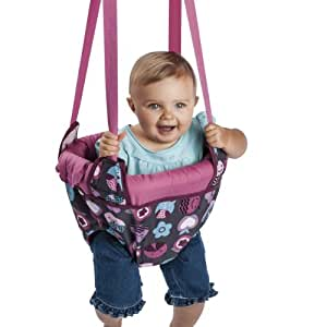 Evenflo ExerSaucer Door Jumper, Pink Bumbly