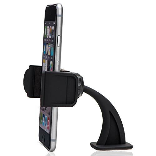 KabelDirekt Universal-Geräte-Halter (Gerätehalterung fürs Auto) für das KFZ-Armaturenbrett- TOP Series