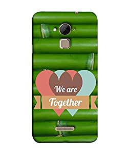FUSON Designer Back Case Cover for Coolpad Note 3 Lite :: Coolpad Note 3 Lite Dual SIM (Quote Love Heart Messages Crazy Express Sorry )