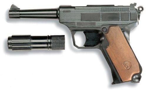 Edison Giocattoli S.P.A- Edison Lionmatic Box Pistola E Fucili Gioco Maschio Bimbo Bambino Giocattolo 212, Multicolore, 821007