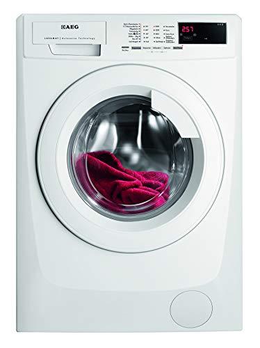 AEG-Electrolux LAVAMAT L68480FL Waschmaschine FL / A+++ / 190 kWh/Jahr / 1400 UpM / 8 kg / 9999 L/Jahr / XXL-Türöffnung /Einfache Bedienung / weiß