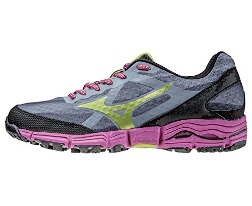 Mizuno Wave Mujin Women's Chaussure Course Trial - SS15 Grey