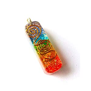 5,1 cm Chakra-Organit-Anhänger, modischer Schmuck handgefertigtes Accessoire