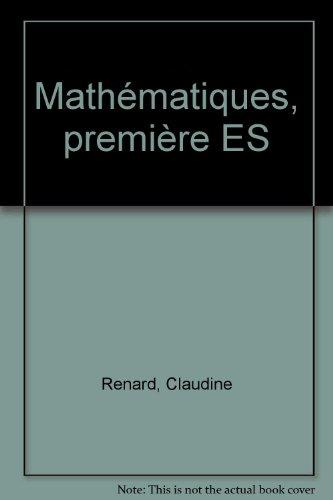 Exercices résolus : mathématiques, 1re ES