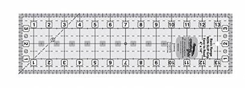 Creative Grids Basic Range 4 x 14 Rectangle Quilt Ruler (CGRBR4) by Creative Grids -