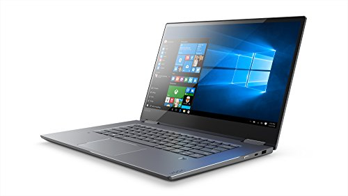 "Foto Lenovo Yoga 720-13IKBR Convertibile con Display da 13.3"" Full HD IPS Touch, Processore Intel Core I7-8550U, 8 GB di RAM, 256 GB Pcie SSD, Scheda Grafica Integrata, Windows 10 Home, Grigio"
