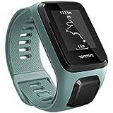 TomTom Spark 3 Cardio - Montre de Fitness GPS - Bracelet Fin Vert d'Eau (ref 1RK0.002.02)