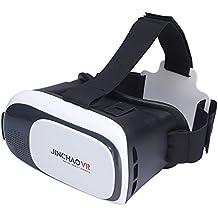 """JINCHAO VR Réalité Virtuelle Casque Lunettes 3D Jeux Vidéo Lunettes pour 3.5 """"- 6.0"""" iPhone Samsung Moto LG Nexus HTC Smartphones 3D films et jeux"""