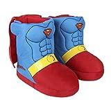 Cerdá Zapatillas De Casa Bota Superman, Niños, Azul (Azul C03), 31/32 EU