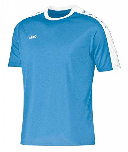 JAKO Kinder Trikot Striker KA, mehrfarbig(skyblue/weiß), 152(Herstellergröße:XL) (Frauen Fußball-trikots Für)