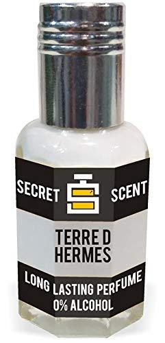 Secret Scent Tere D Hermas Perfume Oil | Attar | Scent | Fragrance Oil 12Ml For Men (Best Long Lasting Perfume Oil/Attar For Men And Women) Undiluted & Alcohol Free