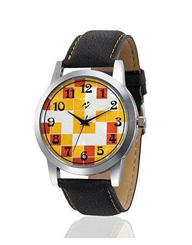 Yepme Analog Yellow Dial Men's Watch - YPMWATCH1472 image