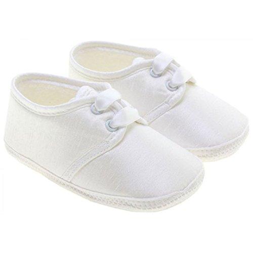 Little Cutie , Baby Jungen Krabbelschuhe & Puschen weiß weiß 6-12 Monate