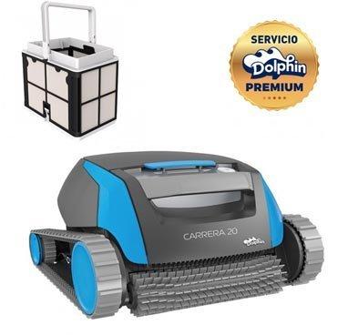 Dolphin Carrera 20 - Robot de nettoyage de piscine (de fond et...